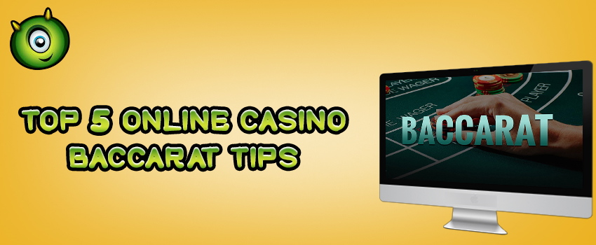 Top 5 Online Casino Baccarat Tips