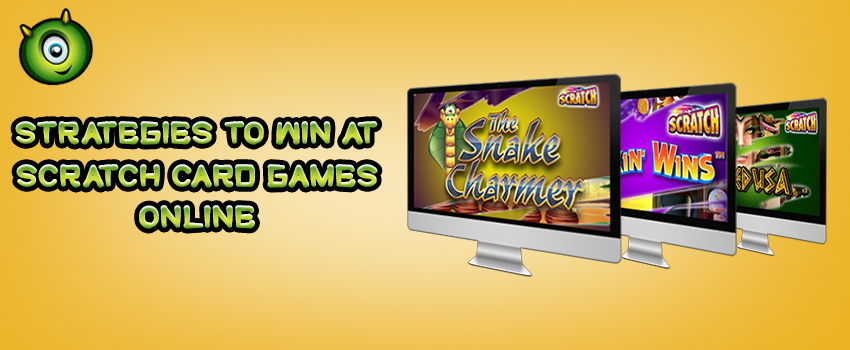 What Strategies Can Make You Win At Scratch Card Games Online?
