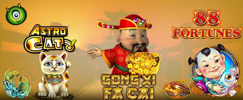 Play the All New Chinese-Themed Slots At Monster Casino