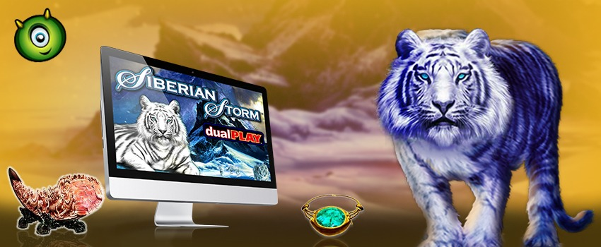 Siberian Storm Dual Play Slots Launches at Monster Casino
