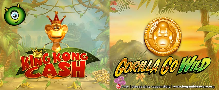 Gorilla Go Wild vs King Kong Cash Slots