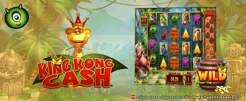 Win Up to £1000 on King Kong Cash Free Spins at Monster Casino