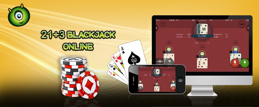 Rules to Play 21+3 Blackjack Online