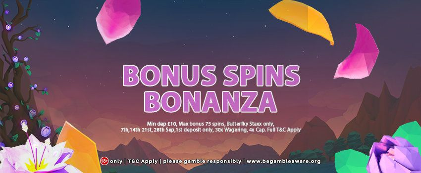 Get 75 Bonus Free Spins On Butterfly Staxx Every Thursday