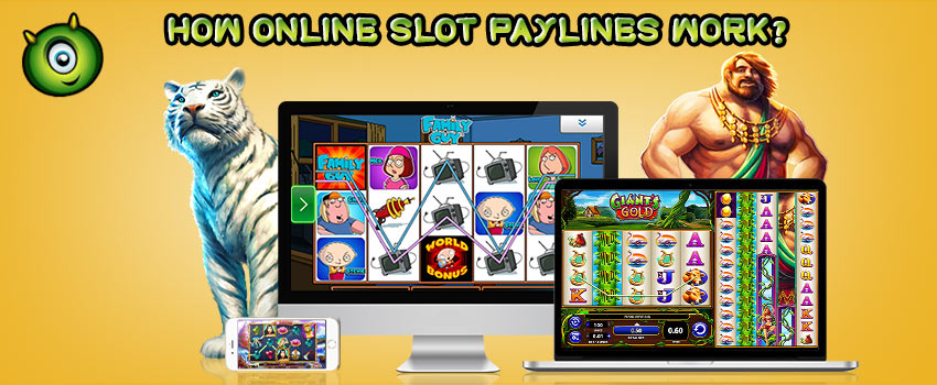 How Does Online Slot Paylines Work?