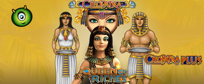 Play the Classic Cleopatra-themed Slots at Monster Casino
