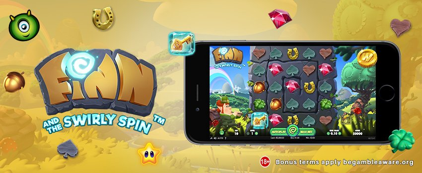 Monster Casino Launches Irish-themed Finn and the Swirly Spin Slots