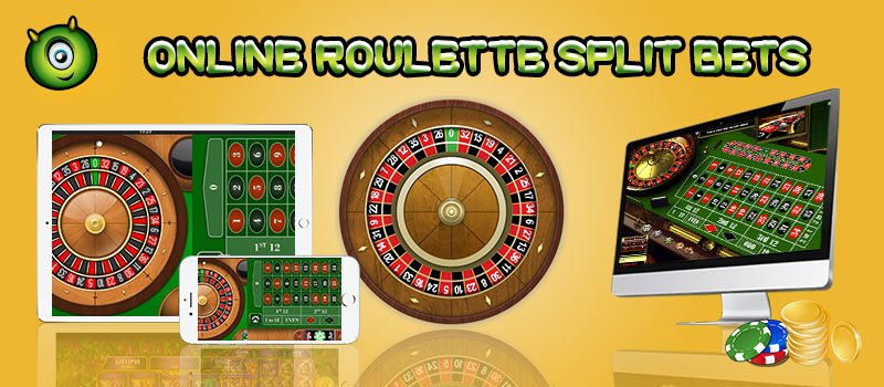 What are Online Roulette Split Bets?