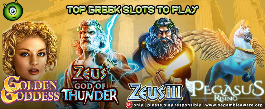 Top Greek Slots to Play at Monster Casino