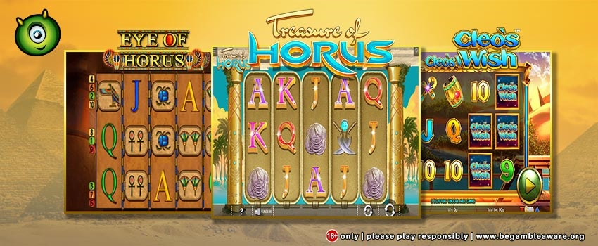New Egyptian-Themed Slots Launch at Monster Casino