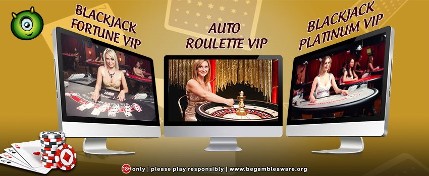 Try out the Monster Casino's Coolest New Live Casino VIP Games