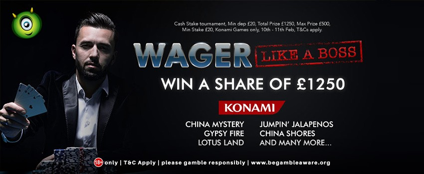 Konami Games Contest Begins: Win Up To £1250 Share