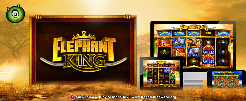 IGT's New Rumbling Elephant King Slots Now At Monster Casino!