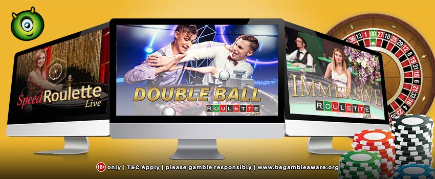 Play Live Dealer Roulette Games at Monster Casino