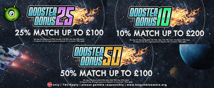 March 2018 Special Booster Bonus Offer