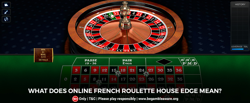 What does Online French Roulette House Edge Mean?
