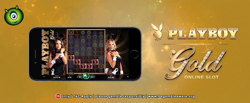 Monster Casino Partners with Playboy™ to launch Playboy Gold Slots!