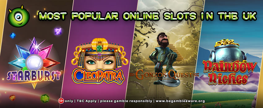 The Most Popular Online Slots in the UK