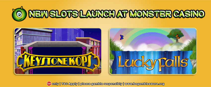 New Slots Launch at Monster Casino!