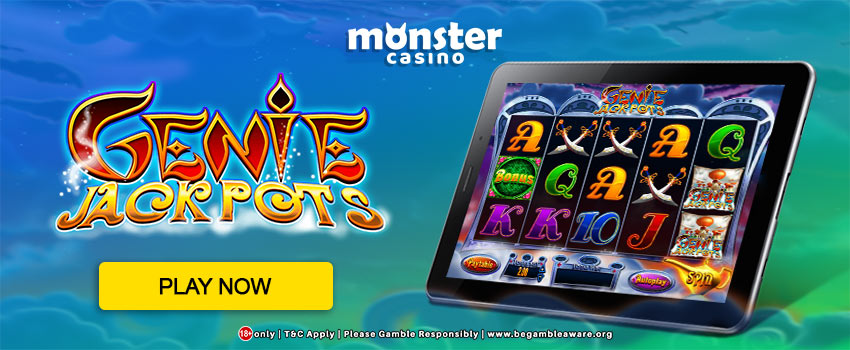 Be Ready to Have your Wishes Granted with Genie Jackpots!