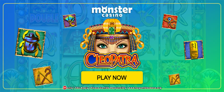 Engage in the Adventurous Cleopatra Slots Online