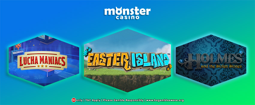 Yggdrasil Partners With Monster Casino For Exclusive Online Slots!