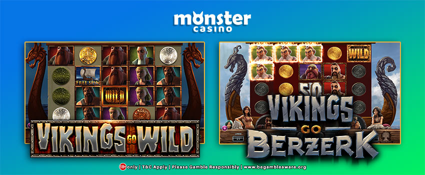 Vikings Go Wild At Monster Casino!