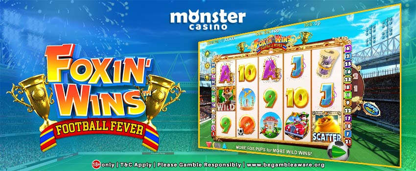 New Slots Game UK: Foxin Wins Football Fever