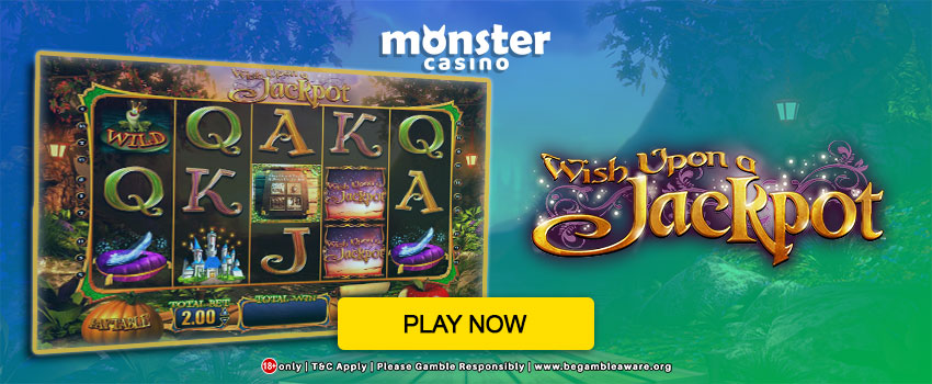 Wish Upon a Jackpot - 5 Reel Online Slot from Blueprint Gaming