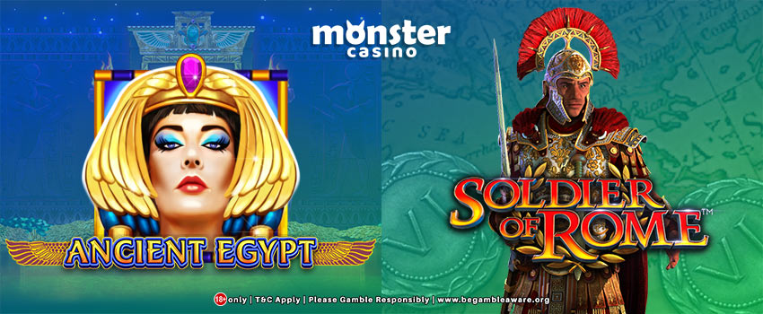 Get High and Mighty Wins with These Brand-New Slots