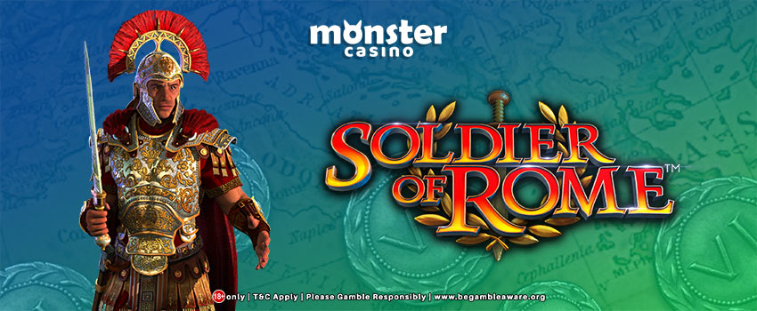 Scientific Games Presents The Soldier of Rome Slots