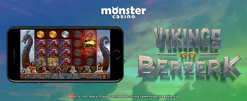 Yggdrasil Partners With Monster Casino To Release Gaming's Vikings Go Berzerk Slots!