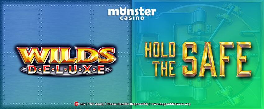 Wilds Deluxe vs Hold the Safe Slots