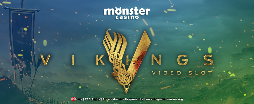 NetEnt's Vikings Slots Now Available At Monster Casino