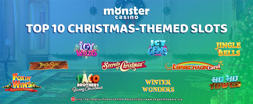Christmas is Here! Here are the Top 10 Christmas-themed Slots