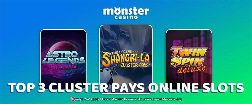 Top 3 Cluster Pays Online Slots