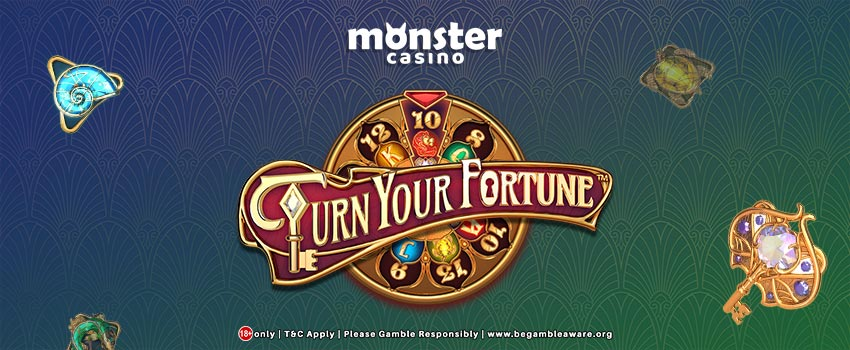 NetEnt Presents Turn Your Fortune Slots