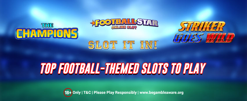 The Football-themed slots to play at Monster Casino