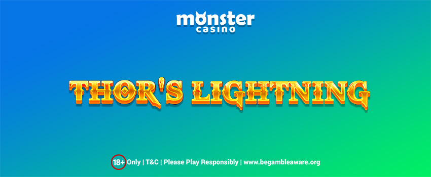 Thor's Lightning Slots Strikes Today At Monster Casino