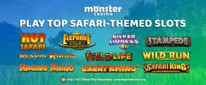 Go On A Safari With These Special Safari-themed Slots