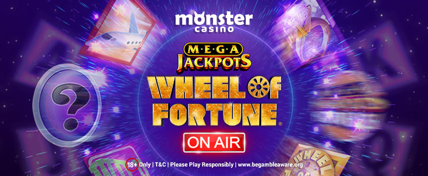 Try Out IGT's Mega Jackpots Wheel of Fortune On Air Slots