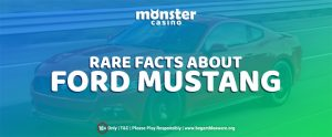 Ford Mustang Day's Coming Up! Here's what you didn't know about Ford Mustang.