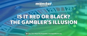 Red or Black? The Gambler's Illusion on Online Roulette