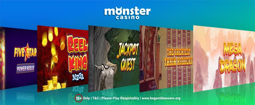 Try Your Luck On A Splendid Variety Of Online Slot Games