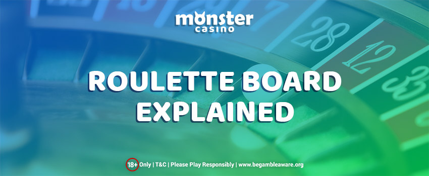 Roulette Board Explained